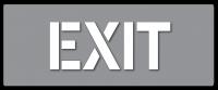 EXIT Stencil - For Car Parks
